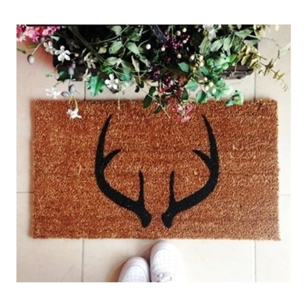 Preș Doormat Deer Horns, 70 x 40 cm