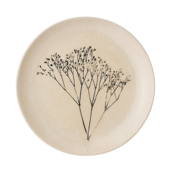 Kameninový talíř Bloomingville Bea, průměr22,5 cm