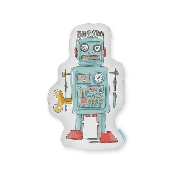 Polštář Little Nice Things Vintage Robot