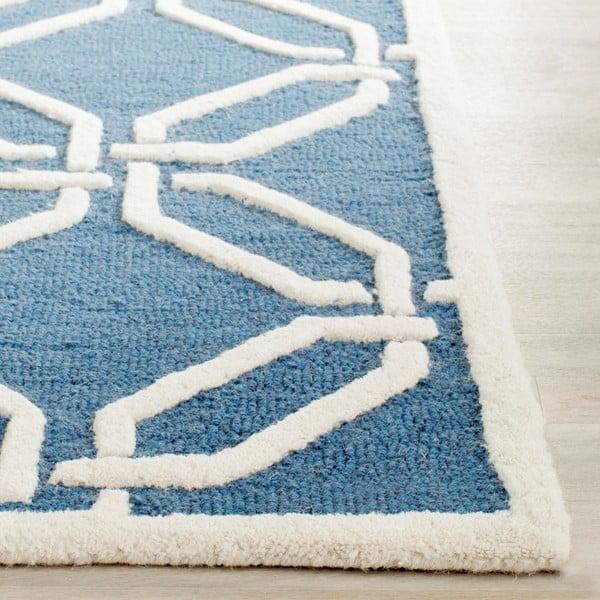 Vlněný koberec Safavieh Mollie Water, 91x152 cm