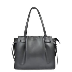 Černá kožená kabelka Anna Luchini Flavia