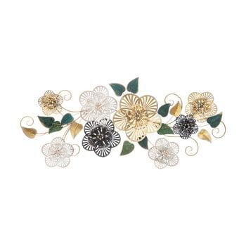 Decorațiune suspendată metalică MauroFerretti Campur-B-, 118x58cm, motive florale imagine