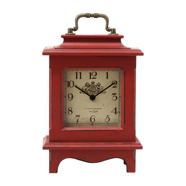 Stolní hodiny Retro Red