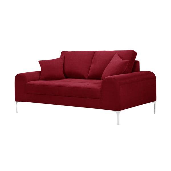 Canapea cu 2 locuri Corinne Cobson Dillinger, roșu