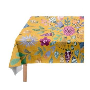Față de masă Madre Selva Colourful Flowers, 140 x 250 cm imagine