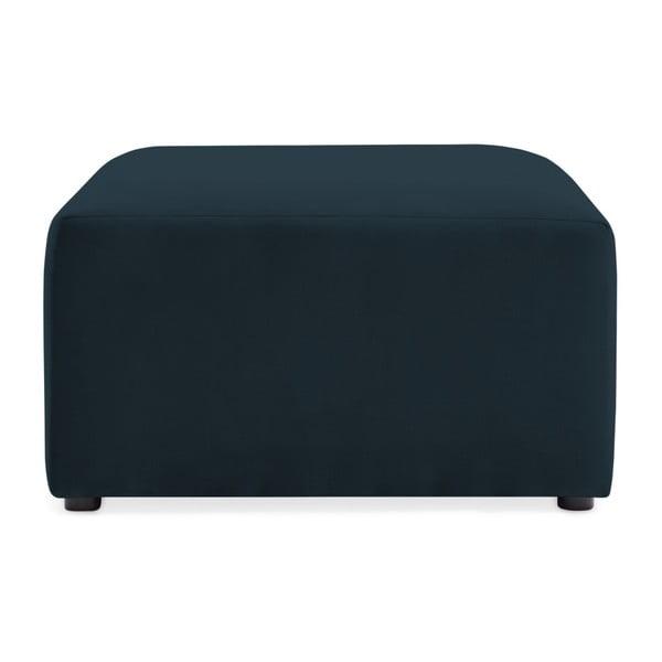 Námořnicky modrá podnožka Vivonita Velvet Cube
