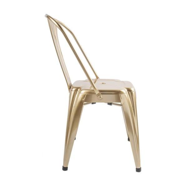 Židle v bronzové barvě Leitmotiv Dazzle