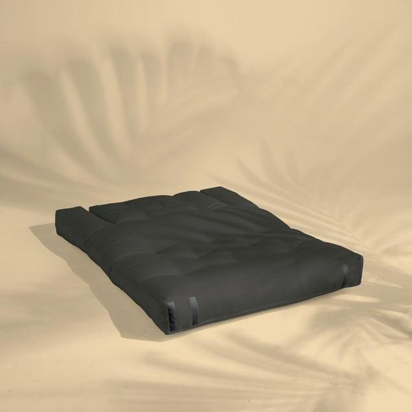 Canapea extensibilă potrivită pentru exterior Karup Design Design OUT™ Hippo Dark Grey, gri închis