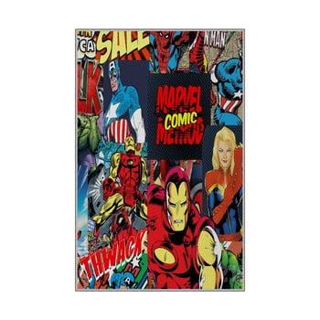 Covor antiderapant pentru copii Homefesto Superheros,180x280cm imagine