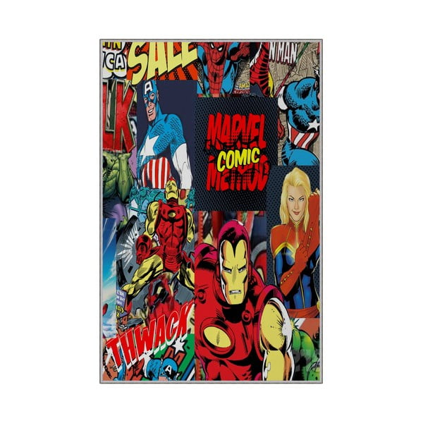 Dětský protiskluzový koberec Homefesto Superheros,180x280cm