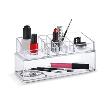 Organizator dublu pentru cosmetice Domopak Make Up