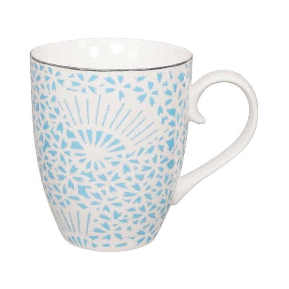Tyskysovo-bílý porcelánový hrnek Tokyo Design Studio Shiki, 380 ml