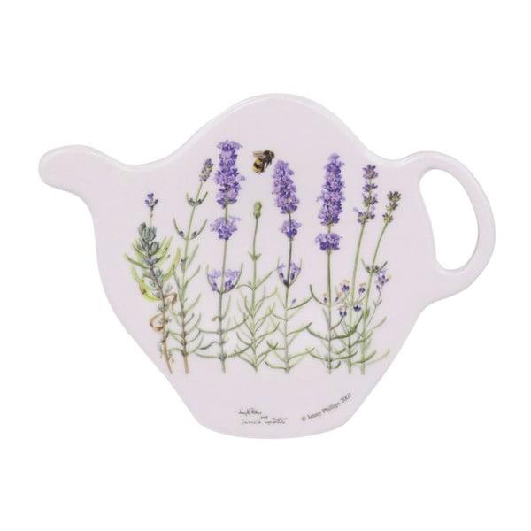 Talířek na odkládání čajových sáčků Ashdene I Love Lavender