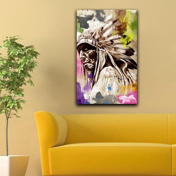 Obraz Duch Indiánů, 45x70cm