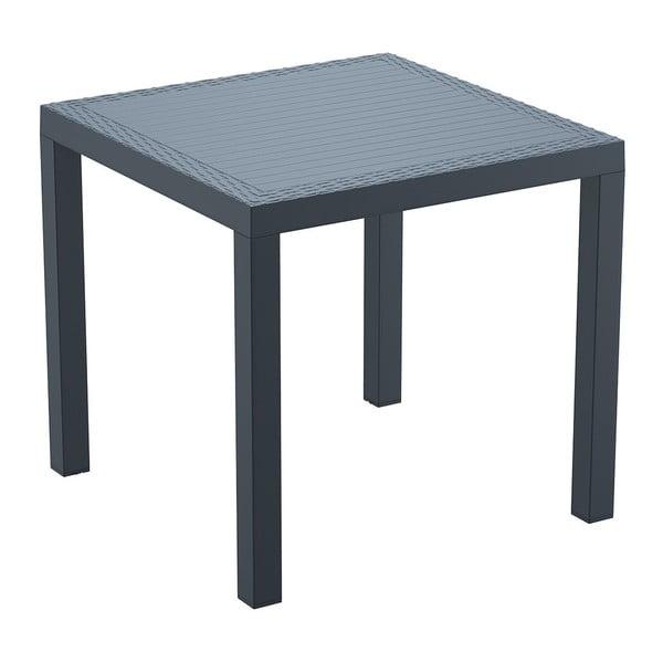 Stůl Orlando 80, tmavě šedý