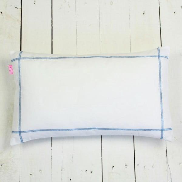 Povlak na polštář Basic Blue, 50 x 30 cm