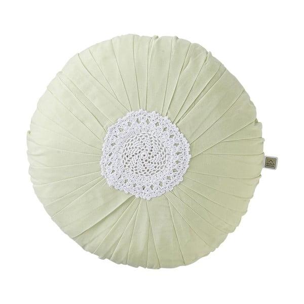 Polštář Yasmina 40 cm, světle zelený