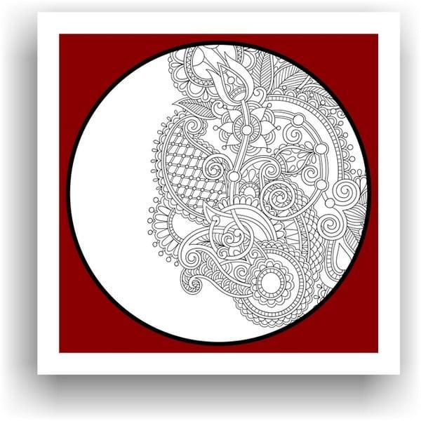 Obraz k vymalování Color It no. 98, 50x50 cm