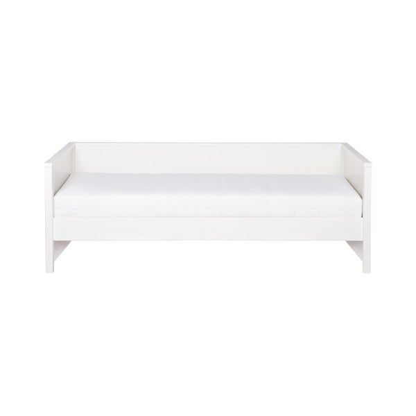 Bílá postel/sofa WOOOD Nikki, 200x90cm