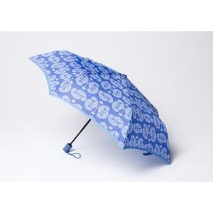 Skládací deštník Cashmere, modrý