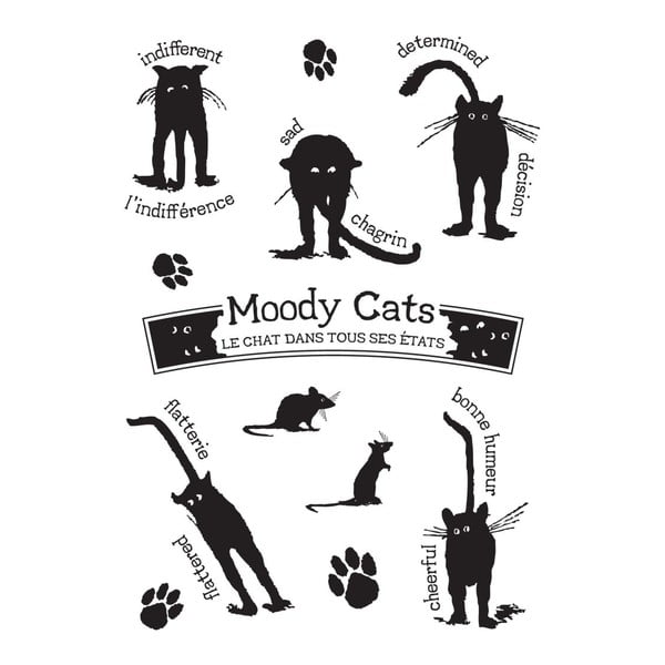 Samolepka Etats des chats