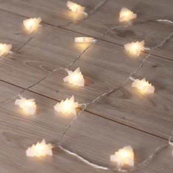Ghirlanda luminoasă cu LED în formă de brazi DecoKing Tree, lungime 2,4 m, 20 beculețe imagine
