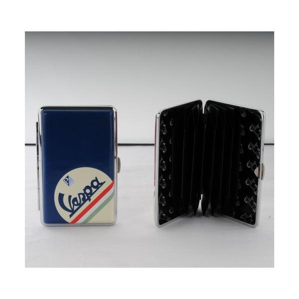 Pouzdro na kreditní karty/vizitky Vespa Blue