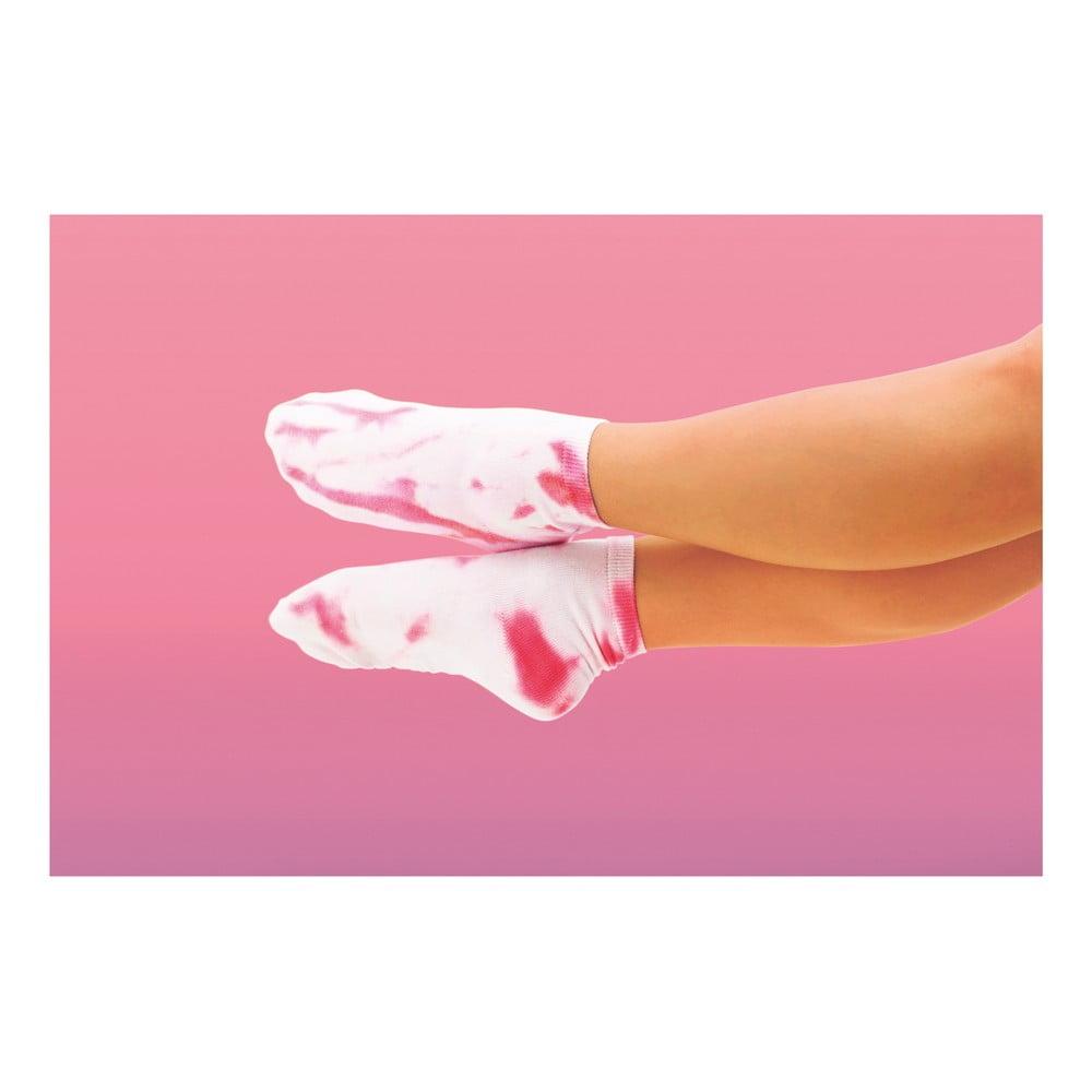 Unisex zmrzlinové ponožky v dárkovém balení Luckies of London Raspberry