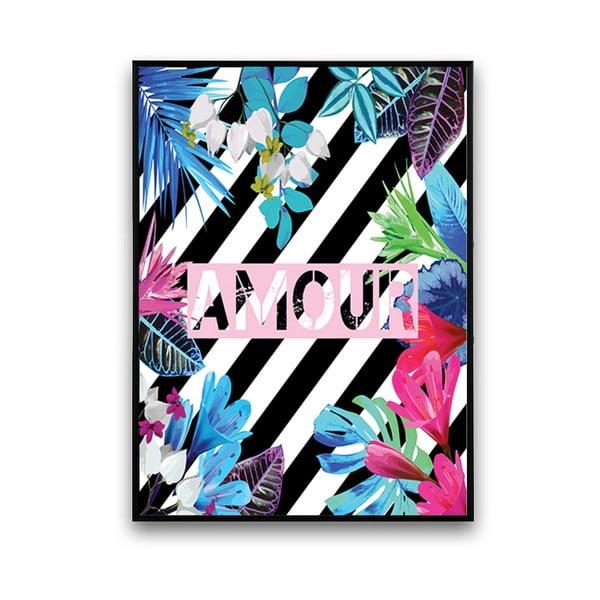 Plakát Amour, 30 x 40 cm