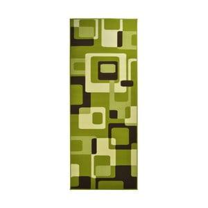 Zelený koberec Hanse Home Hamla Retro, 80x150cm