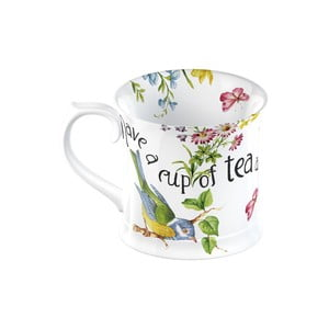 Bílý porcelánový hrnek Creative Tops English Garden, 350 ml