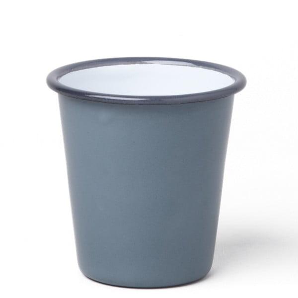 Pahar smălțuit Falcon Enamelware, 310 ml, gri
