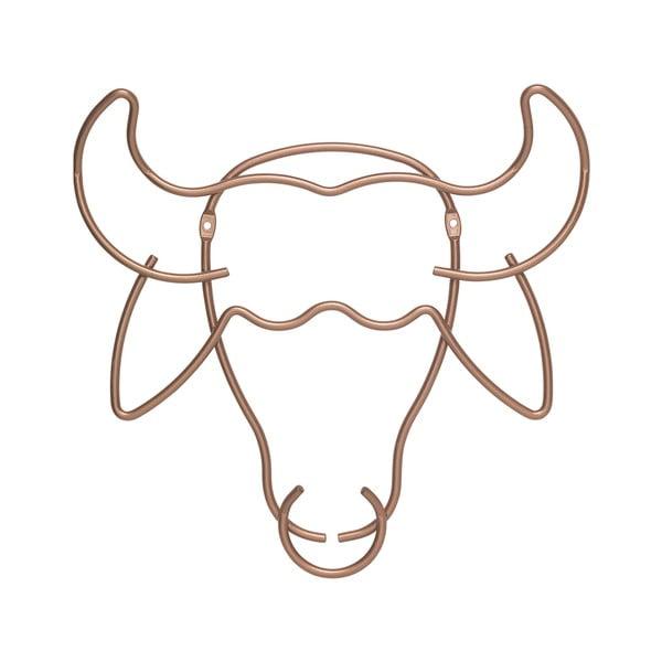 Bika formájú fali akasztó, szélesség 34 cm - Metaltex
