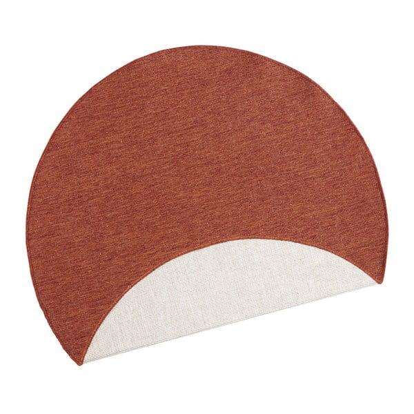 Covor adecvat pentru exterior Bougari Miami, Ø 200 cm, roșu