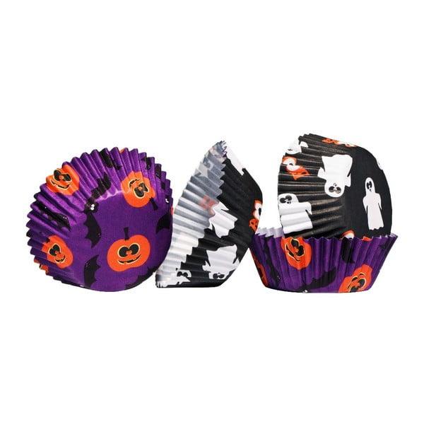 Papírové košíčky na cupcaky Halloween Medium, 60 ks