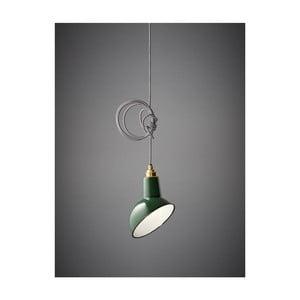 Stínítko Miniature Angled Cloche Green