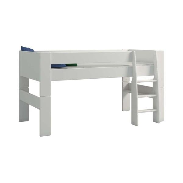Krémově bílá dětská patrová postel Steens For Kids, výška 113cm