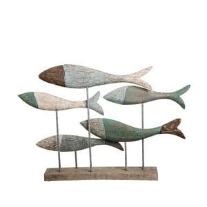 Decorațiune din lemn Ixia Fishes