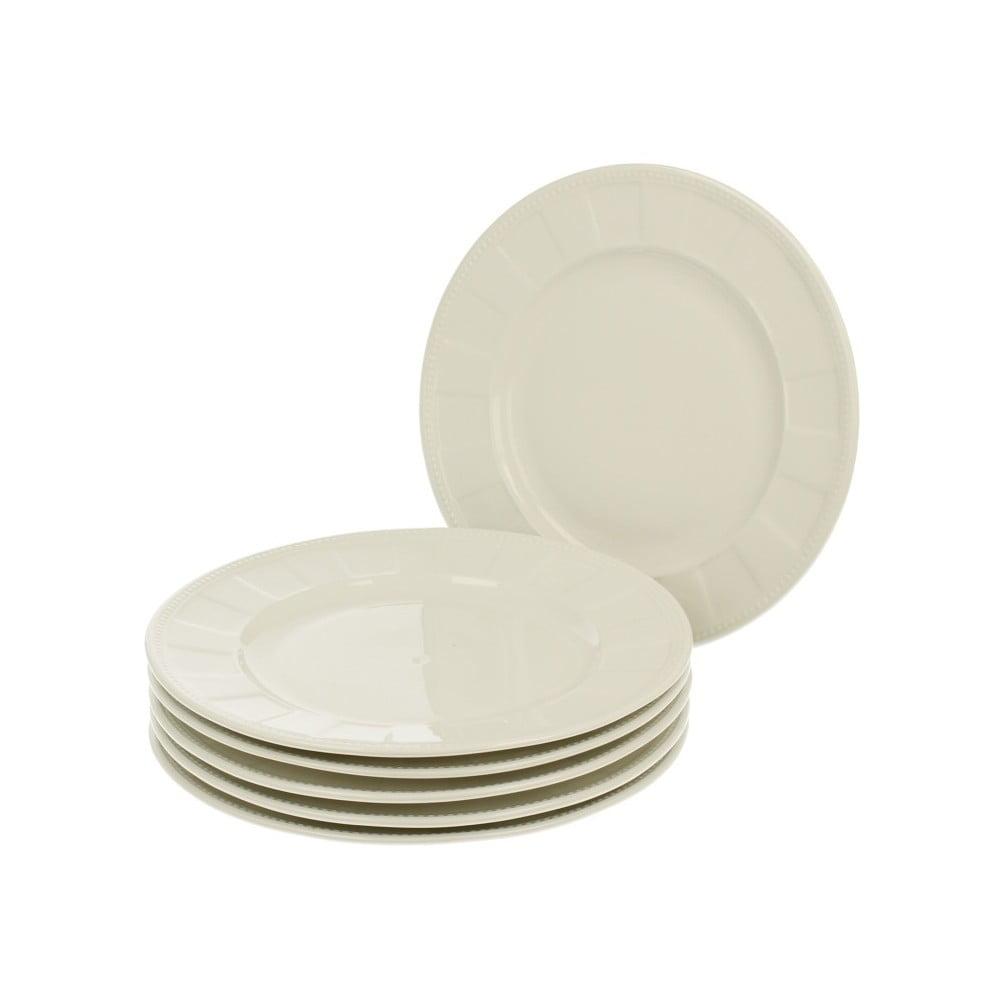 Sada 6 dezertních talířů z porcelánu Duo Gift Casette, Ø 21,25 cm