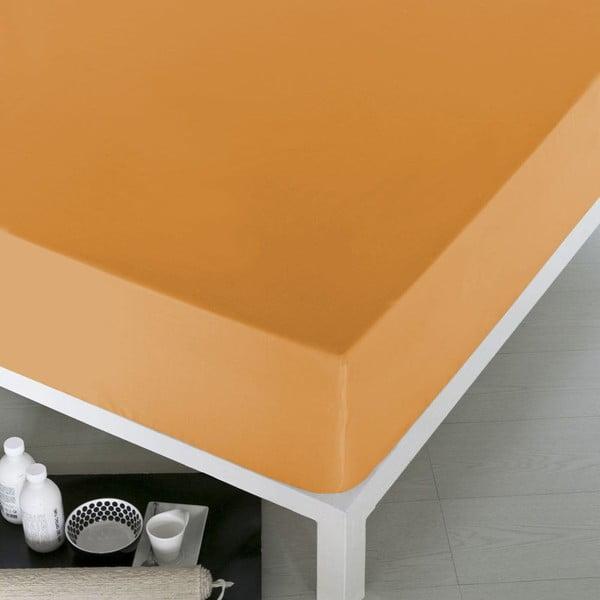 Prostěradlo Home Orange, 160x200 cm