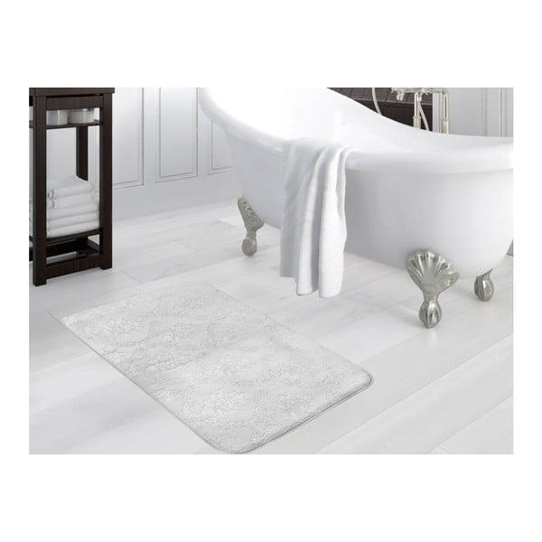 Šedá koupelnová předložka Madame Coco Nigela, 70x110cm