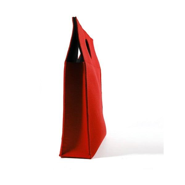 Taška MAMMA, červeno-černá