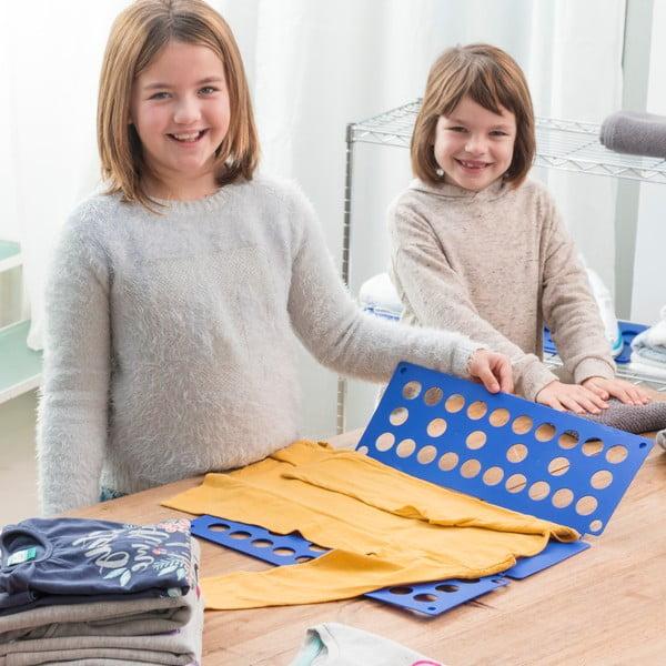Niebieska deska do składania ubrań dziecięcych InnovaGoods