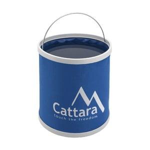 Modrá skládací nádoba navodu Cattara, 9l