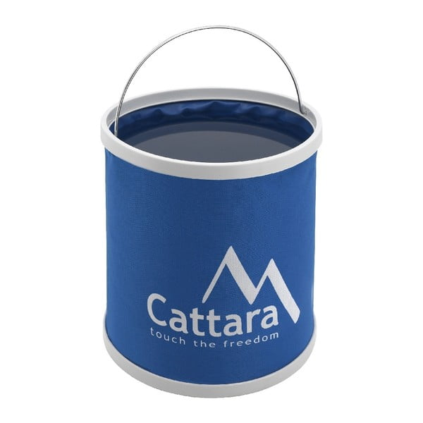 Niebiesko wiaderko składane na wodę Cattara, 9 l