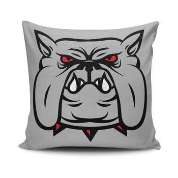 Față de pernă cu adaos de bumbac Cushion Love Dog, 45 x 45 cm