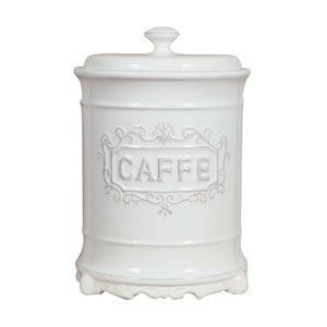 Keramická bílá dóza na kávu Biscottini Cuisine Léontine