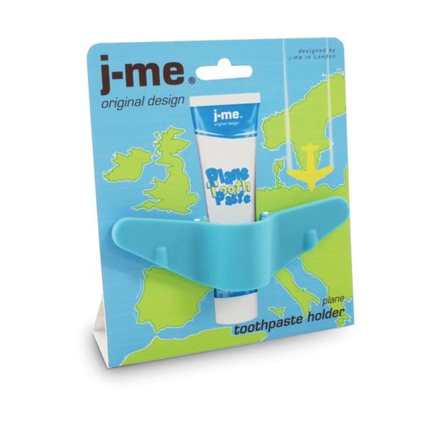 Modrý stojánek na zubní pastu J-Me Plane