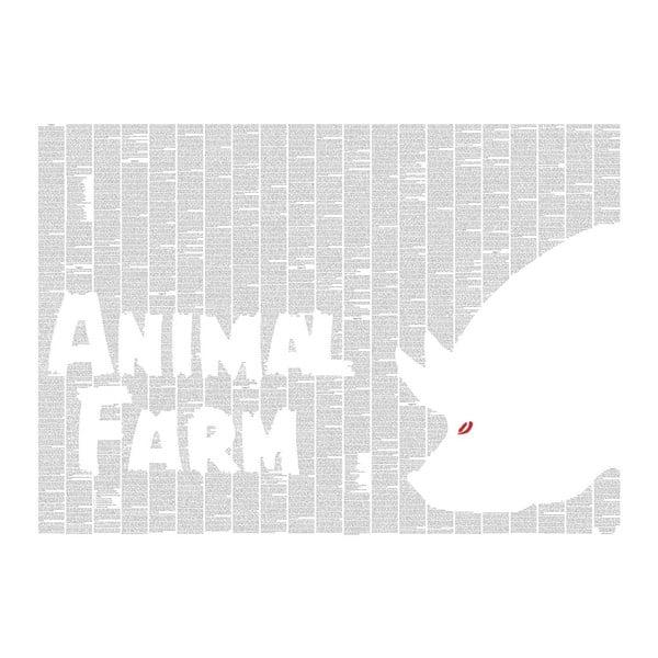 Knižní plakát Farma zvířat, 70x50 cm