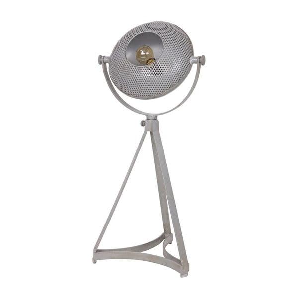 Šedá stolní lampa De Eekhoorn Blown